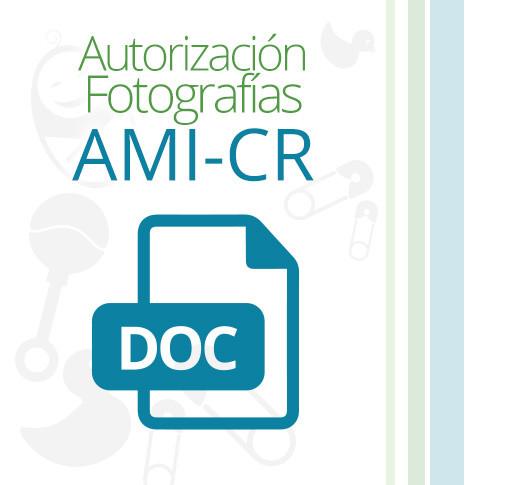 Autorización Fotografías AMI-CR